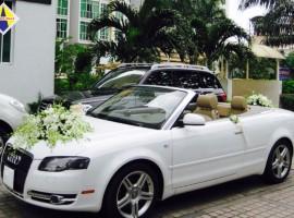 Xe cưới Audi mui trần